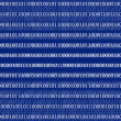 3D Binary Code Background - Stock Photo