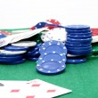 Poker Chips 02 — Stock Photo