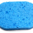 Royalty-Free Stock Photo: Blue Sponge
