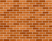 Brick Wall Seamless Background Small Bricks — Stock Photo