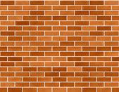 Brick Wall Seamless Background Small Bricks — Stock Photo