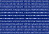 3D Binary Code Background — Stock Photo