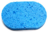 Blue Sponge — Stock Photo