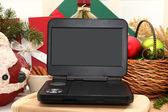 Portable DVD Player — Stock Photo