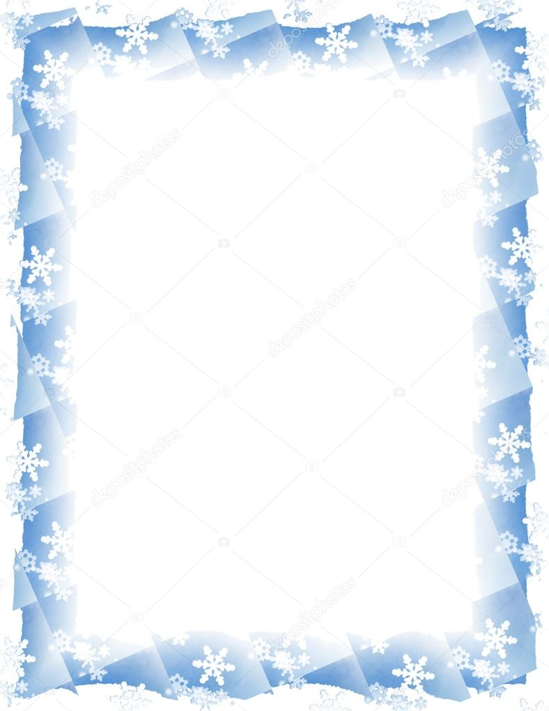 Displaying 17> Images For - Snowflake Borders And Frames...