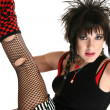 Rocker Chick - Stock Photo