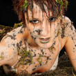 Sexy Swamp Creature — Stock Photo