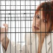 Caged - Stock Photo