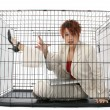 Caged — Stock Photo