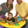 Stock Photo: Beautiful Hispanic Family