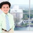 Boy in Office Building — Stock Photo #12820742