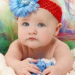Baby in Tutu — Stock Photo #12821107