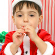 Holiday Helper - Stock Photo