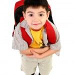 erster Tag in der Schule — Stockfoto