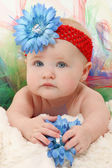 Baby in Tutu — Stock Photo