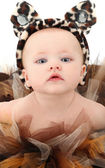 Baby Girl in Tutu — Stock Photo