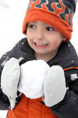 Snowball Fight — Stock Photo