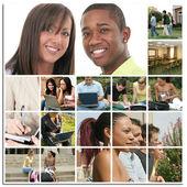 Collage di collegio — Foto Stock