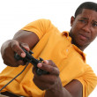 Attractive Young Man With Video Game Control Pad — Stock Photo #12891937