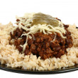 Royalty-Free Stock Photo: Organic Chili and Rice