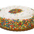 Stock Photo: Sprinkle Cake