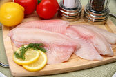 Fresh Ttilapia — Stock Photo