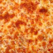 Cheese Bread Pizza Background - Stock Photo