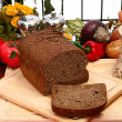 German Dark Wheat Bread - Stock Photo