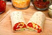 Breakfast Burrito — Stock Photo