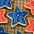 Royalty-Free Stock Photo: Forth of July Cookies
