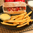 Italian Meatball Sandwhich -  