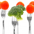 Broccoli and Tomatoes — Stock Photo #12979881