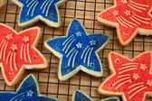 Forth of July Cookies — Stock Photo