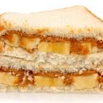 Peanut Butter and Banana — Stock Photo #12980305