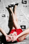 Mulher — Foto Stock