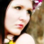Beautiful Fairy or Wood Elf — Stock Photo #13120329