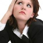 Business Woman Thinking — Stock Photo #13120405