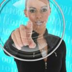 Futuristic Woman — Stock Photo #13182192