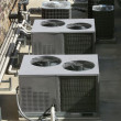 Air Conditioner Heating Units - Stock Photo