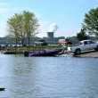 Boating At The Park — Stock Photo