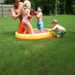 Stock Photo: Backyard Fun