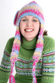 Fun Fresh Winter Teen — Stock Photo