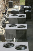 Air Conditioner Heating Units — Stock Photo