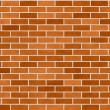 Brick Wall Seamless Background Small Bricks — Stockfoto