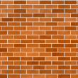 Brick Wall Seamless Background Small Bricks — 图库照片