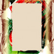Christmas Theme Frame - Stock Photo