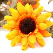 Artificial Sunflower With Great Detail - Stock Photo