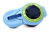 Blue and Green Label Maker With Blank Tab for Text — Stock Photo