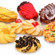 Pile of assorted Italian Biscottie Cookies - Stock Photo