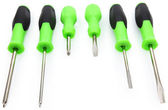 Set of Screwdrivers — Stock Photo